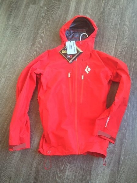 Rock Climbing Photo: Black Diamond Sharp edge Gore tex Pro Jacket . New...