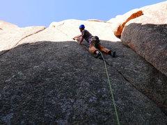 Rock Climbing Photo: Fun crack on Sweet Nothings.