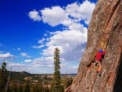 Rock Climbing Photo: The start of Grunt Lieback.