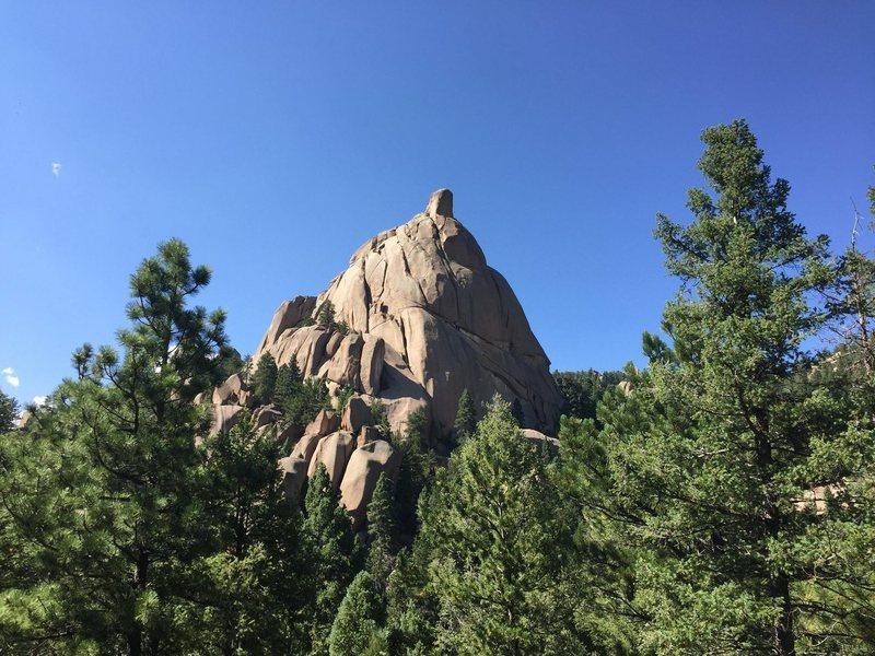 Rock Climbing Photo: Cap Rock