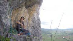 Rock Climbing Photo: 3rd Belay of Corcovado