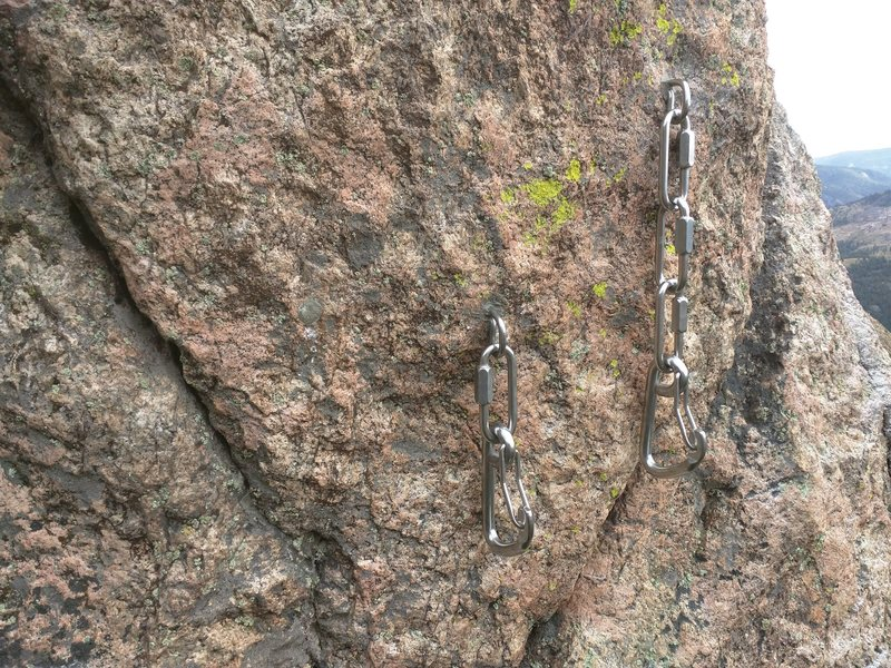 Rock Climbing Photo: Anchor upgraded to all Stainless Steel. Glad to pu...