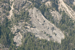 Rock Climbing Photo: Super Slab as seen from the summit of the perch
