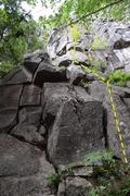 Base of climb, taken from slightly left.