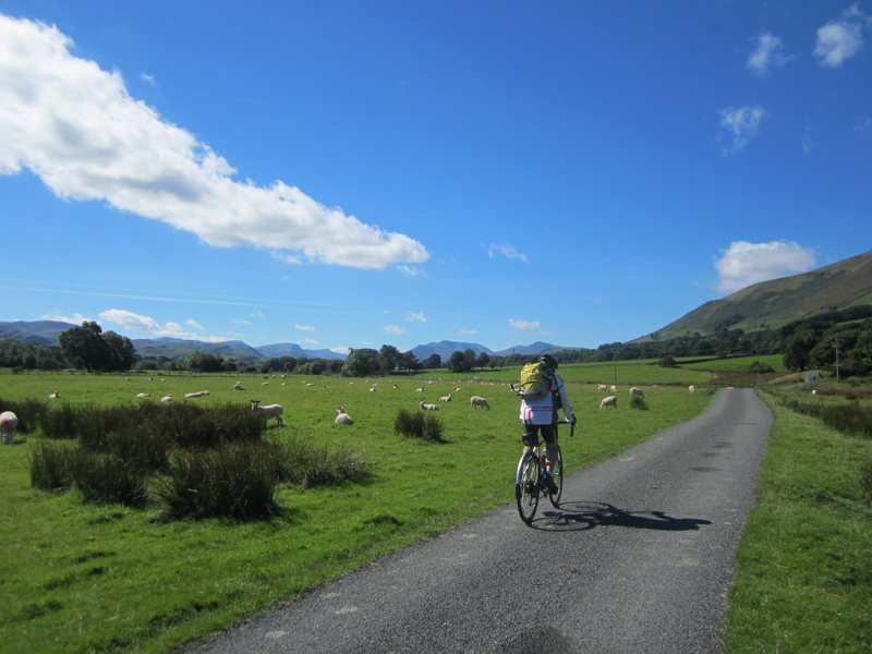 Cycling in beautiful Lakeland weather