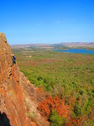 Rock Climbing Photo: Great for learning Trad or for setting up Top-Rope