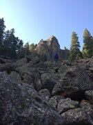 Rock Climbing Photo: Pantheon.
