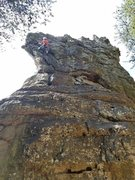 Rock Climbing Photo: A fun, mellow route. Great for new leaders!