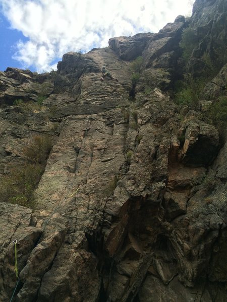 Made in the Shade 5.9<br> The Canal Zone<br> Clear Creek Canyon<br> Golden, CO<br> <br> (photo credit: Natalie Cushman)