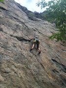 Rock Climbing Photo: Ivy League 5.10a The Canal Zone Clear Creek Canyon...