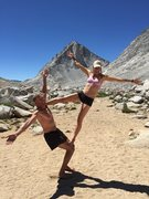 Acroyoga at 11,700 ft