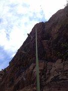 Rock Climbing Photo: Sunset Boulevard top rope