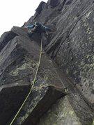 Rock Climbing Photo: Cruz pitch.  Felt a little soft for grade
