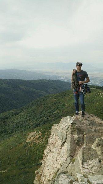 The top of Skyline Crag