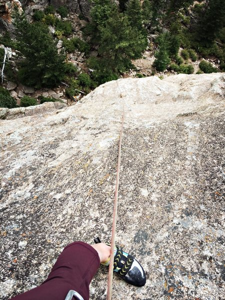 Rock Climbing Photo: Critical Morass 5.10c