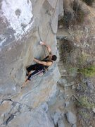 Rock Climbing Photo: Rémi Bakkar on The Pyramid.