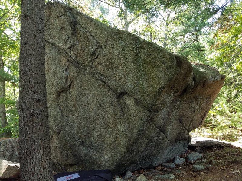Rock Climbing Photo: Hidden Arete.