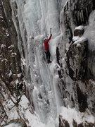 Rock Climbing Photo: ADK Ice