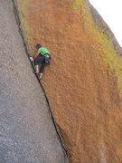 Rock Climbing Photo: 5.10a I put up