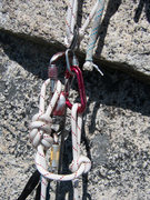 Rock Climbing Photo: Safetying the Fifi.