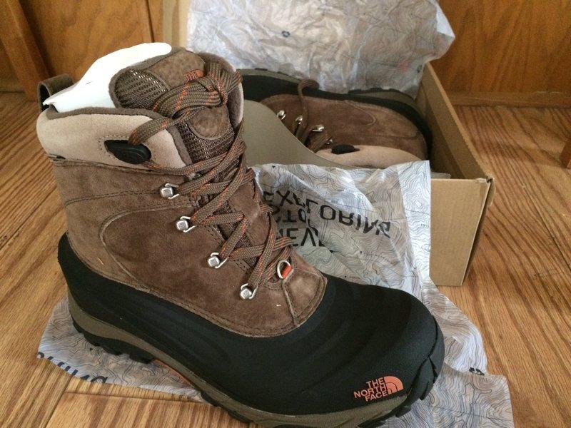 Rock Climbing Photo: North Face Chilkat II boots