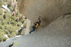 Rock Climbing Photo: 2nd pitch dihedral