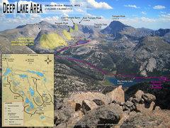 Rock Climbing Photo: Deep Lake Area