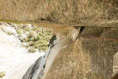 "Rock Climbing Photo: looking down the third pitch from the ""eagle&..."