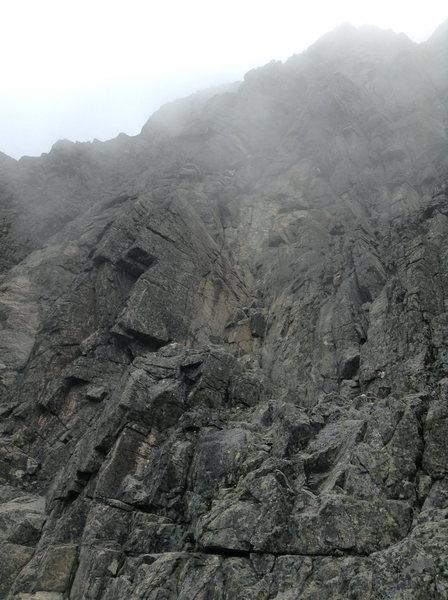 Rock Climbing Photo: Starting dihedrals?