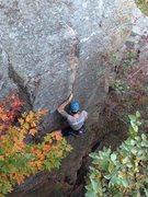 Rock Climbing Photo:  Thoroughfare, Devil's Lake WI