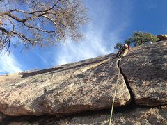 Rock Climbing Photo: A small time in Big Texas