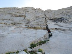Rock Climbing Photo: There are a couple of ways to access the corner. O...