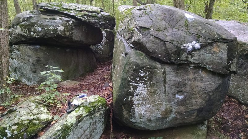 Rock Climbing Photo: Old Toboggan boulders