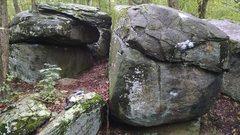 Rock Climbing Photo: Old Toboggan boulders