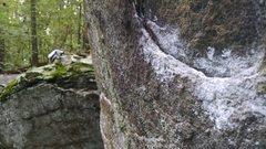 Rock Climbing Photo: Mmmmm...diabase! So aesthetic and often featureles...