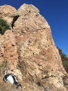Rock Climbing Photo: A look at the boulder