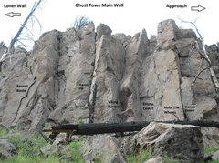 Rock Climbing Photo: The main area.
