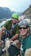 Rock Climbing Photo: Doing some rowdy trad climbing in Wyoming