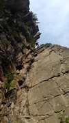 """Rock Climbing Photo: rapping off the top of """"Ye God's and Litt..."""