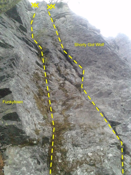 Rock Climbing Photo: Routing