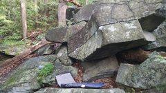 Old Toboggan boulder