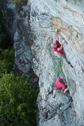 Rock Climbing Photo: Brian and myself on pitch 2. Courtesy of Kyle Jone...
