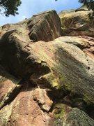 Rock Climbing Photo: The Separator.