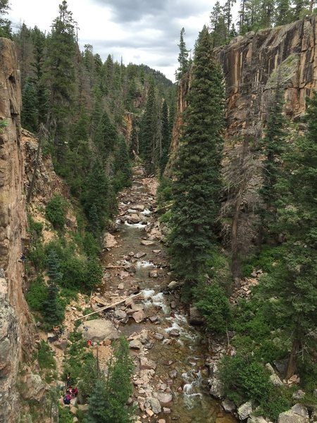 Can&@POUND@39@SEMICOLON@t recall, CO<br> (That is the Animas River 2-3 days before the devastating Gold King Mine Spill turned the crystal water into toxic yellow soup)