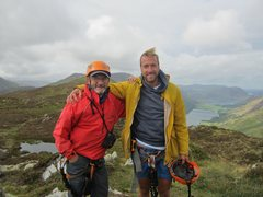 Rock Climbing Photo: Country File BBC program with Ben Fogle  Top of Cr...