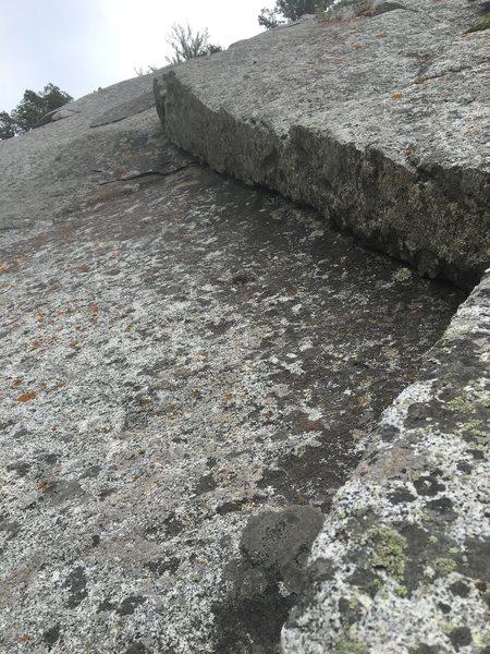 Rock Climbing Photo: fun dihedral