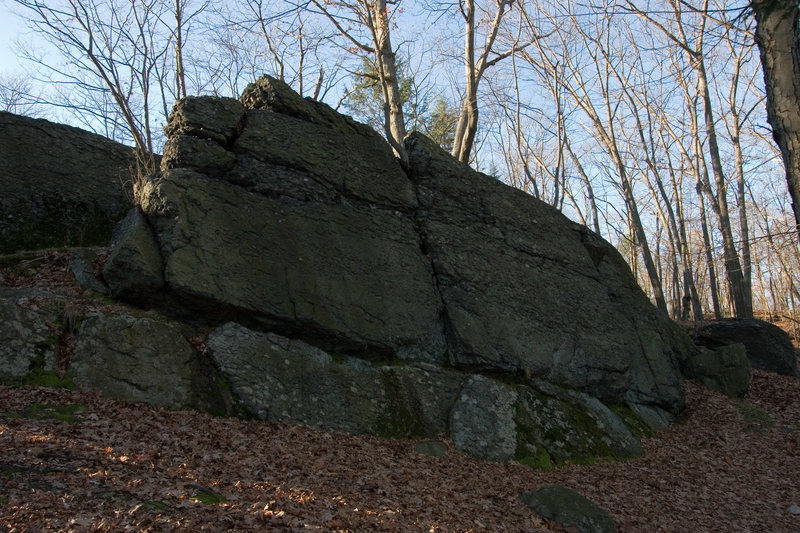 Lower Wall, Right.