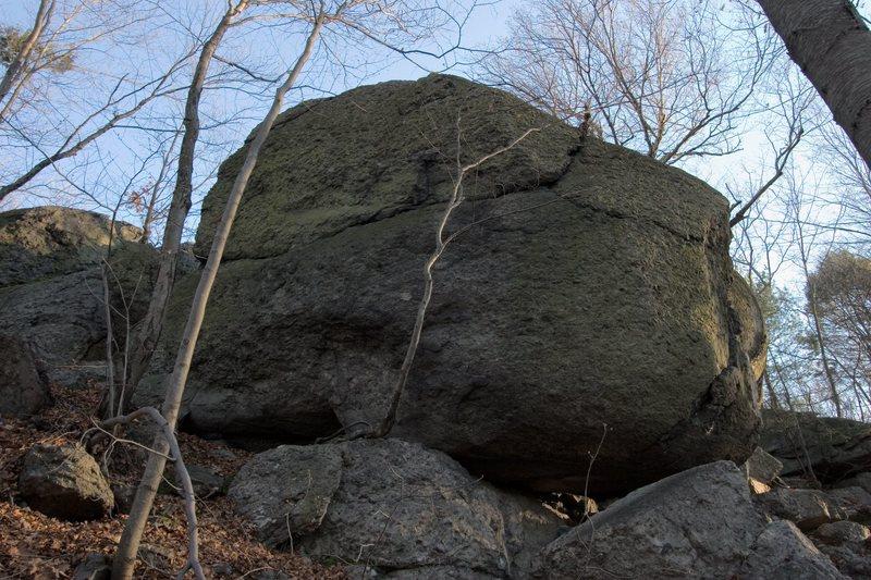 Rock Climbing Photo: Mosquito Wall, Right