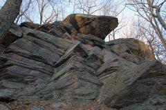 Rock Climbing Photo: Eliminator Roof