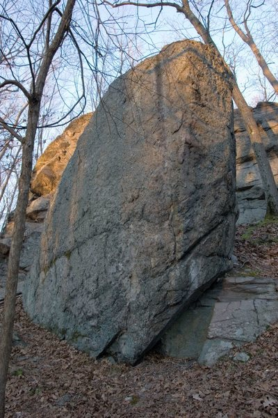 The Pinnacle Boulder.